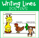 Primary Writing Lines Poster