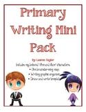 Primary Writing Mini Pack