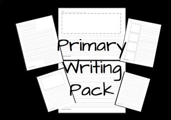 Primary Writing Pages