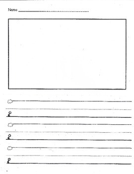 Primary Writing Paper