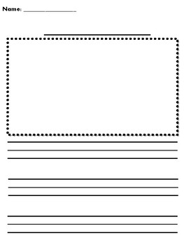 Primary Writing Paper- Basic
