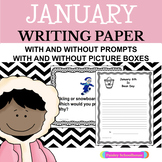 Primary Writing Paper: January 2019 & Winter Writing Paper and Prompts