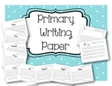 Writing Practice Paper - Number Writing Practice