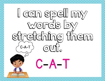 Primary Writing Posters