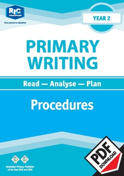 Primary Writing: Procedures – Year 2