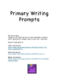 Primary Writing Prompts