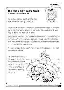Primary Writing: Reports - Year 1