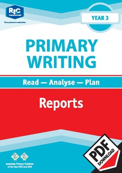 Primary Writing: Reports – Year 3