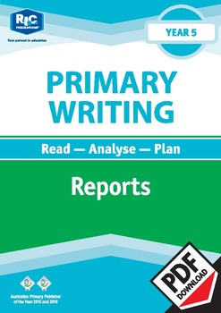 Primary Writing: Reports – Year 5
