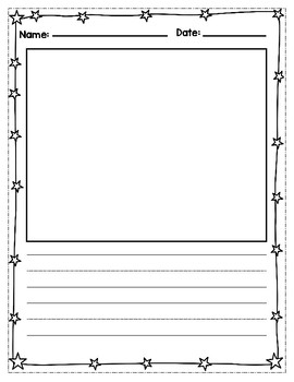 Primary Writing Sheets