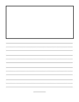Primary Writing - Story Page {FREE}