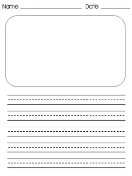Primary Writing Template