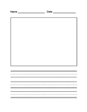 Primary Writing Template or Readers Response Template