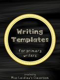 Primary Writing Templates