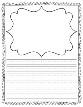 primary writing templates for any occasion by the teacher wife tpt