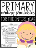 Primary Writing Templates for the Entire Year #FLASHBASH