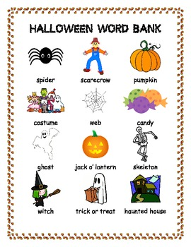 Primary Writing Picture Word Banks Mega-Pack!