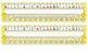 Primary Yellow Polka Dot Desk Reference Nameplates