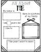 Primary all about me back to school activity