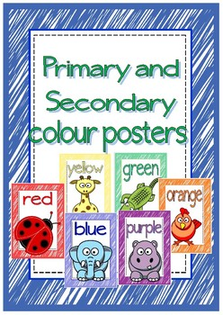 Primary and Secondary Colour Posters