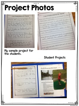 Primary and Secondary Source Project FREEBIE!