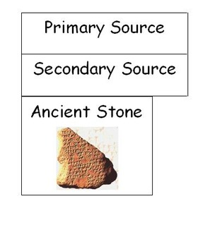 Primary and Secondary Source Sort