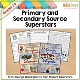 Primary and Secondary Source Activities | Distance Learning
