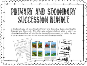Primary and Secondary Succession Bundle