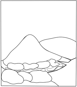 Primary and Secondary Succession Clipart