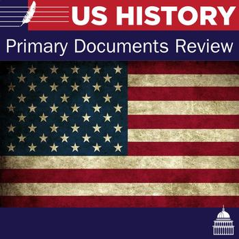 Primary documents Review for U.S. History