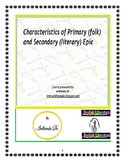 Primary (folk) and Secondary (literary) Epic