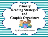 Primary reading strategies, comprehension posters and graphic organizers
