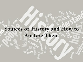 Primary v Secondary Sources and Analysis