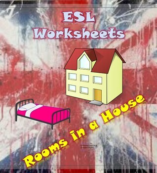 Primary worksheets: Items found in rooms of a house