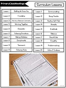 PrimaryClassMeetings