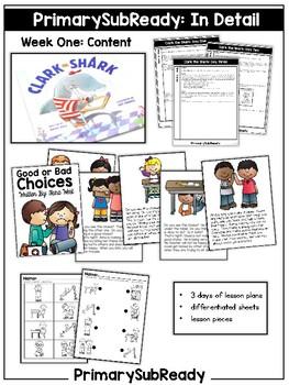 PrimarySubReady: Substitute Plans and Curriculum