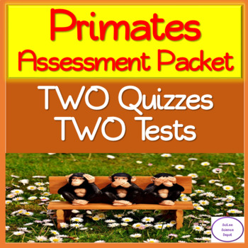 Primate Assessment Pack: TWO Tests