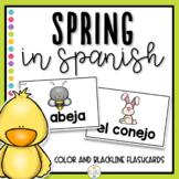 Spring in Spanish Flashcards - La Primavera