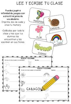 Primavera Lectoescritura -Fichas y Juegos-
