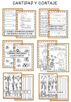 Primavera Súper Pack - Lectoescritura, Palabras Secretas y Matemáticas