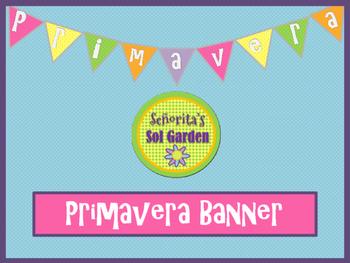 Primavera - Spring Banner