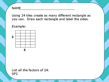 Prime, Composite, Factors and Multiples Packet