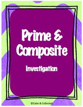 Prime & Composite Investigation