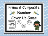 Prime & Composite Number Cover Up Game