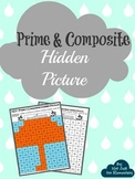 Prime & Composite Number Hidden Umbrella Picture: Perfect Spring Activity