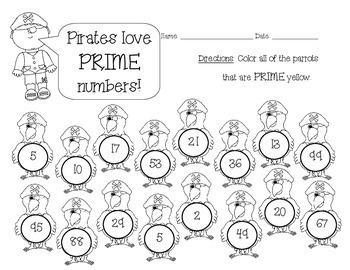 Prime & Composite Numbers: Identify Prime Numbers