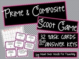 Prime & Composite Numbers Scoot Game {Task Cards}