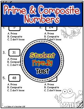 Prime & Composite Numbers Test
