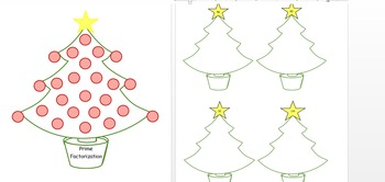 Prime Factor Christmas Tree