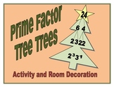 Prime Factor Tree Trees - Activity and Decoration